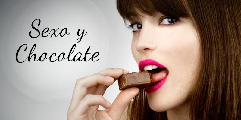 Sexo oral y chocolate